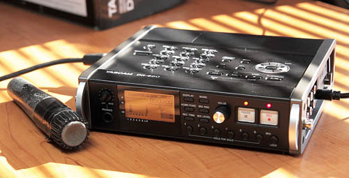 tascam DR-680 Review with SM57