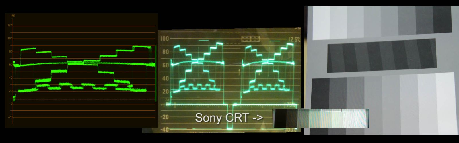 waveform monitoor hardware vs software