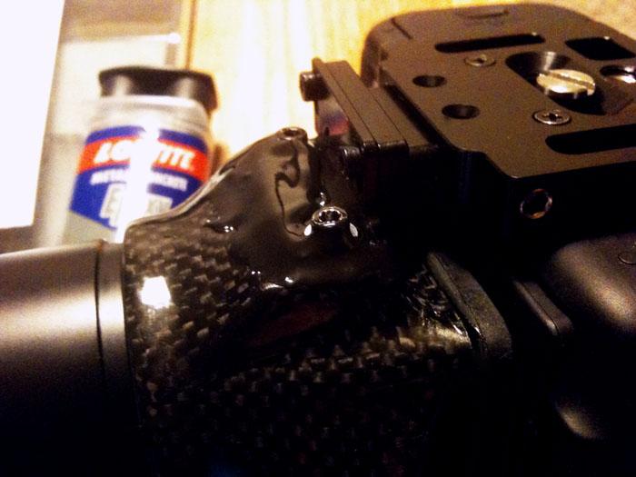 letus hawk DSLR viewfinder magnifier fix
